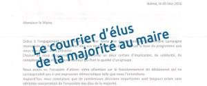 Balma - Courrier d'élus de la majorité - 9 mai 2016