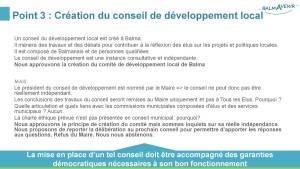BalmAvenir - Conseil municipal du 18 octobre 2016 - Diapo 5