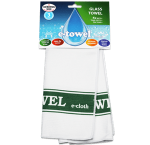 Glass e-towel green