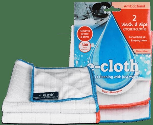 2 Wash & Wipe Kitchen Cloths