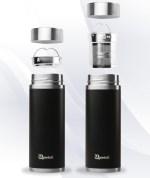 Black Qwetch Insulated Stainless Steel tea mug - 300ml