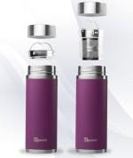 Purple Qwetch Insulated Stainless Steel tea mug - 300ml