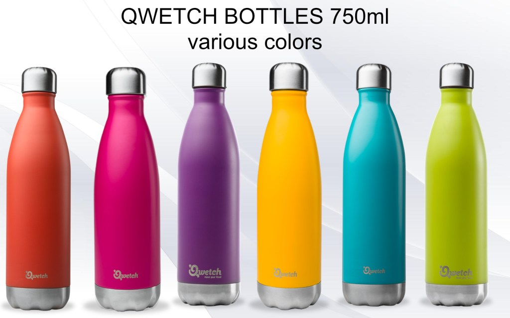 Stainless steel insulated bottle Qwetch 750ml