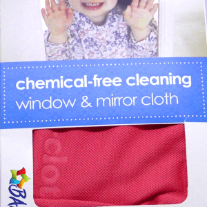 E-baby window & mirror cloth