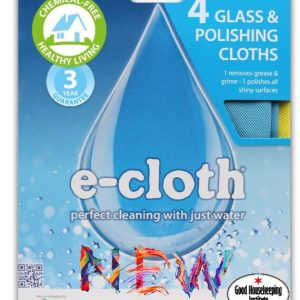 4 Glass & Polishing Cloths