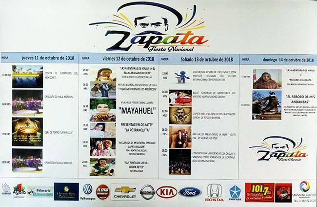 Actividades Fiesta Zapata