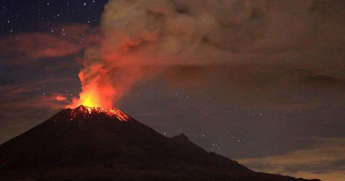 Albergues disponibles en Morelos por posible erupción del Popocatépetl