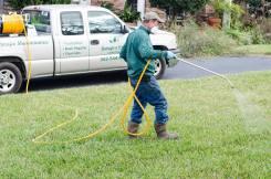 lawn-spraying