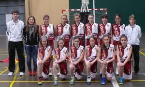 Selección Mini Femenina. Foto Basketcyl