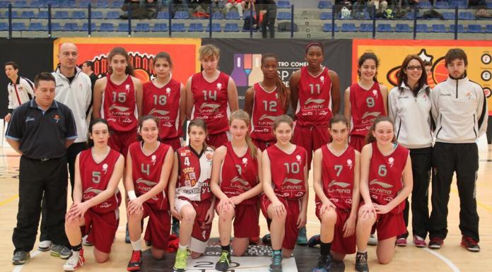 Selección Infantil Femenina de Castilla y León 2014. Foto Basketcyl.com