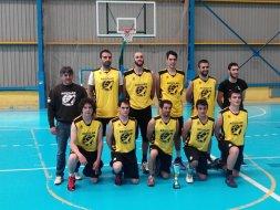 Aguilar, subcampeón del Interpueblos 2016 de baloncesto. Foto Servicio Deportes Diputación de Palencia.