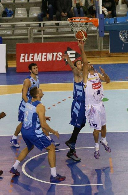 Urko jugó su encuentro 200 con Palencia. Fuente: Prensa GBC