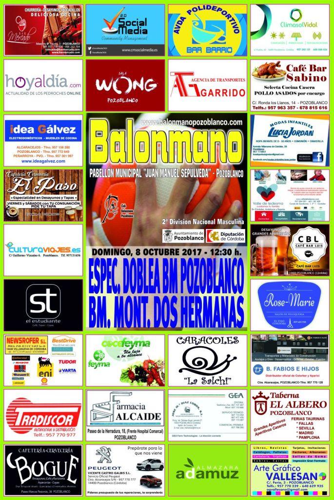 BM Pozoblanco - BM Dos Hermanas