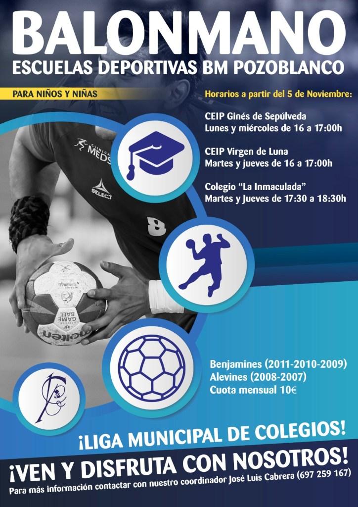 Escuelas deportivas de balonmano BM Pozoblanco
