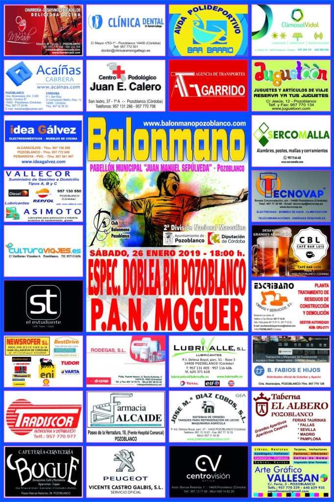 BM Pozoblanco - PAN Moguer