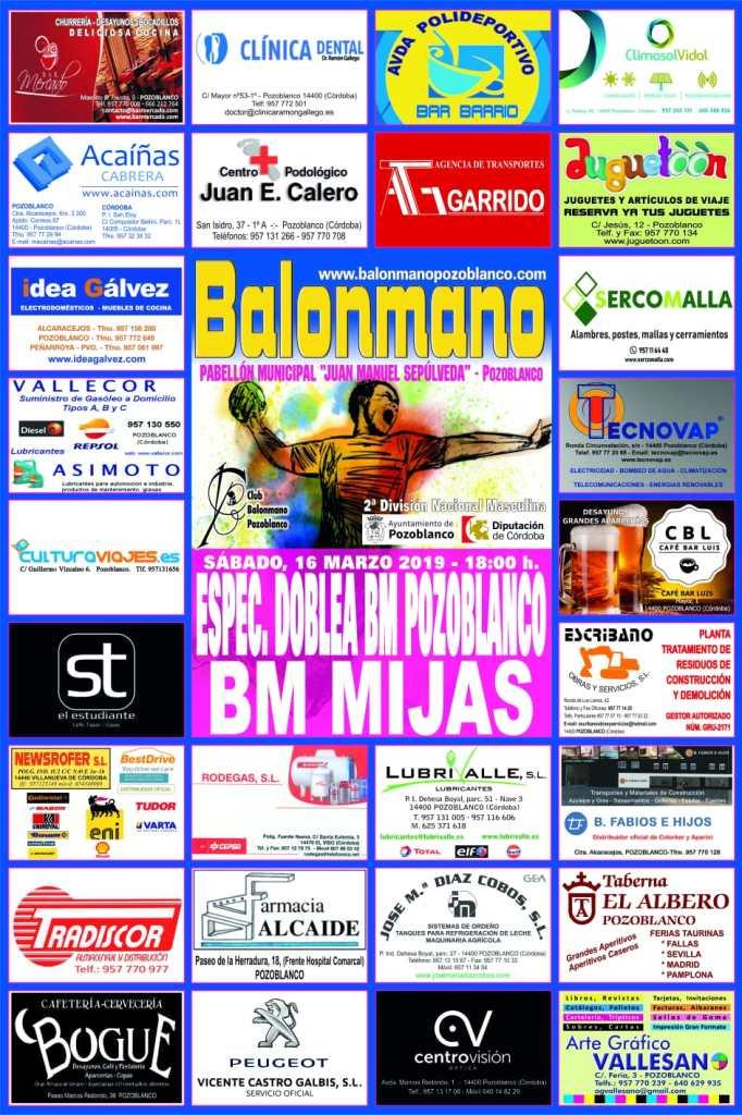 BM Pozoblanco - BM Mijas