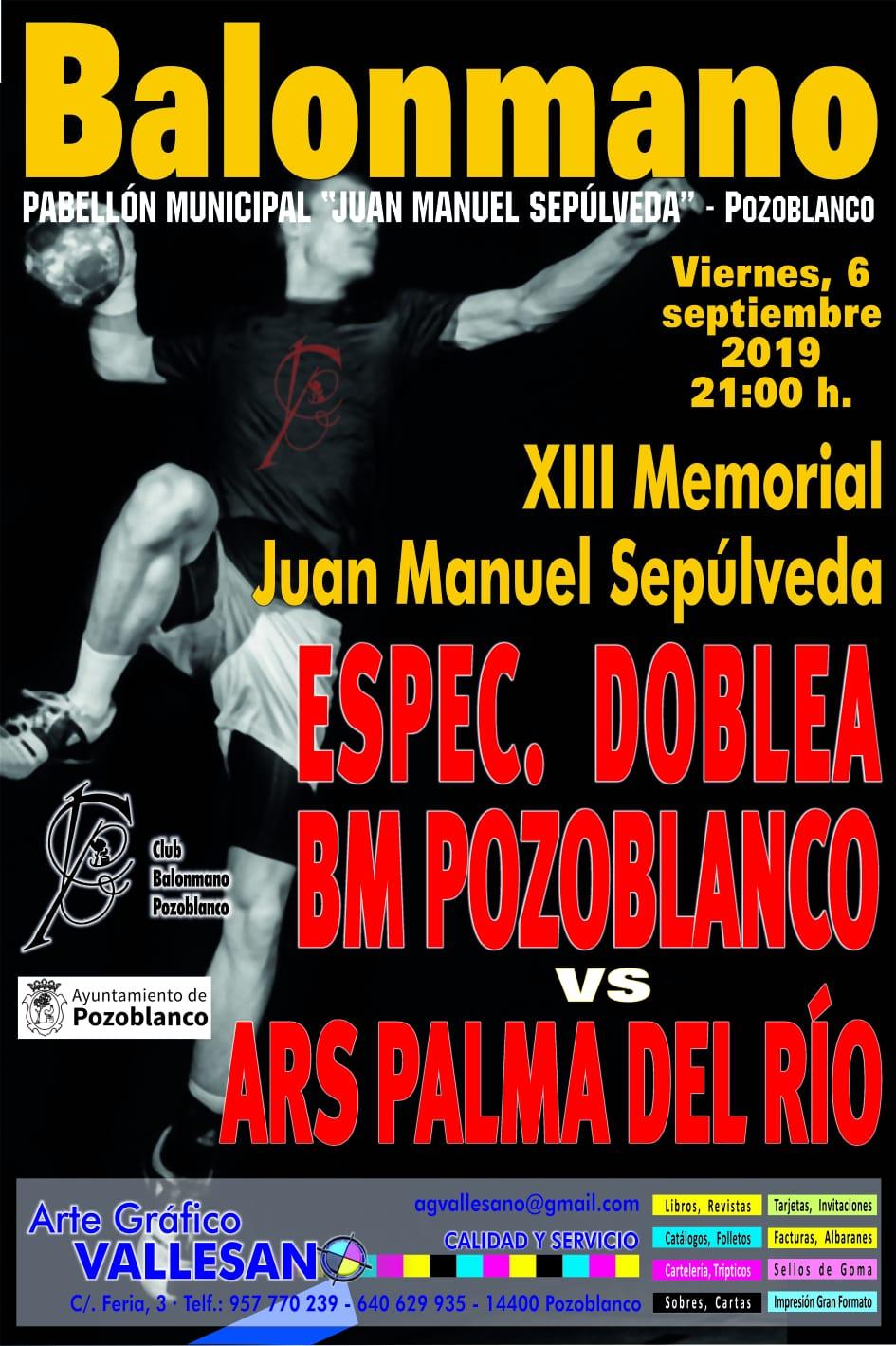XIII Memorial Juan Manuel Sepúlveda