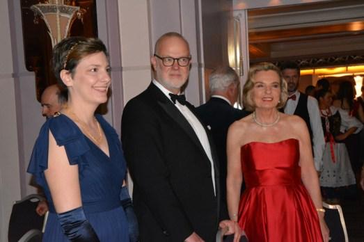 Duke of St Andrews, Min Anna Maria Anders, Pani Malzonka Ambassadora Jolanta Rzegocka