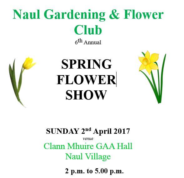 Naul Flower Show 2017