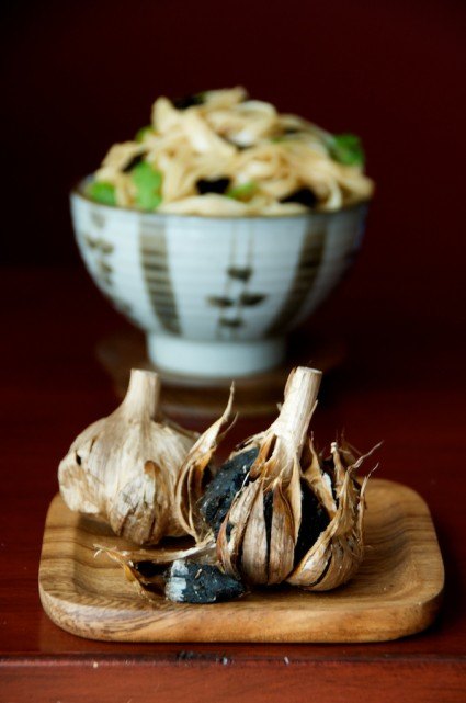 Black Garlic Noodles – Umami blast