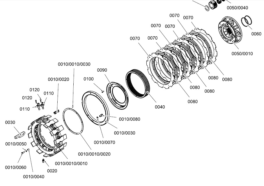 Alternative spare parts for Voith and ZF transmissions