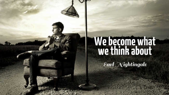 Think Different Wallpaper Hd We Become What We Think About Quotes Wallpaper 10929 Baltana