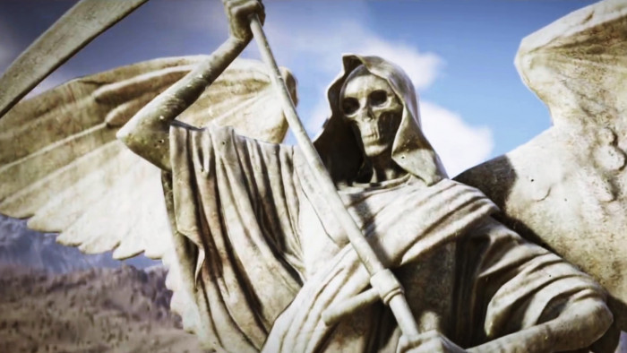 Angel Wallpapers With Quotes Tom Clancys Ghost Recon Wildlands Skull Angel Statue
