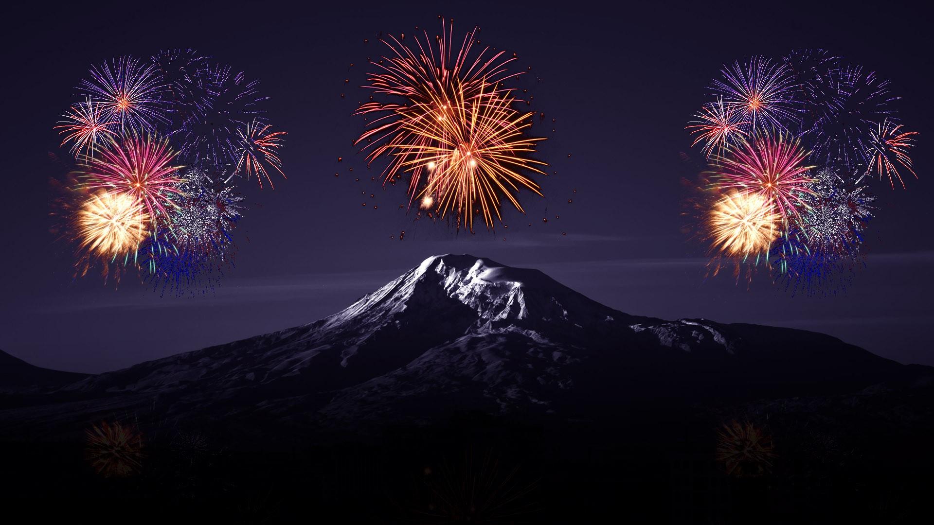 fireworks hd desktop wallpaper