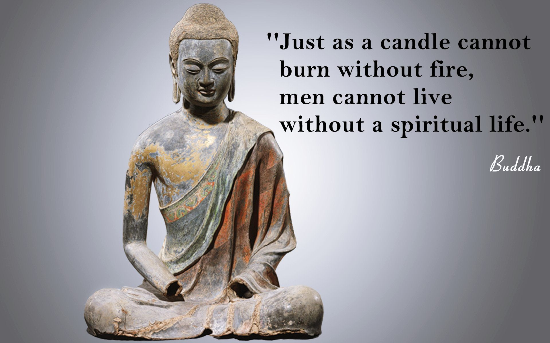 Buddha Spiritual Life Quotes Wallpaper 05665 - Baltana