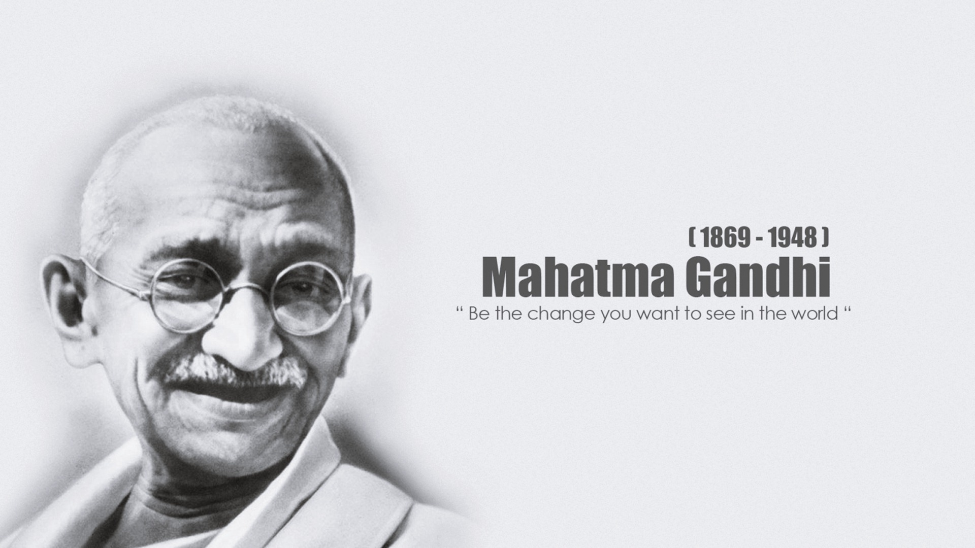 mahatma gandhi quotes hd wallpaper 05814 - baltana