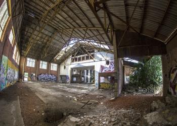 Fabrica cemento abandonada