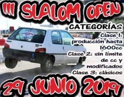 III Slalom karting kz2 cazalegas