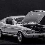 Ford Mustang Maqueta