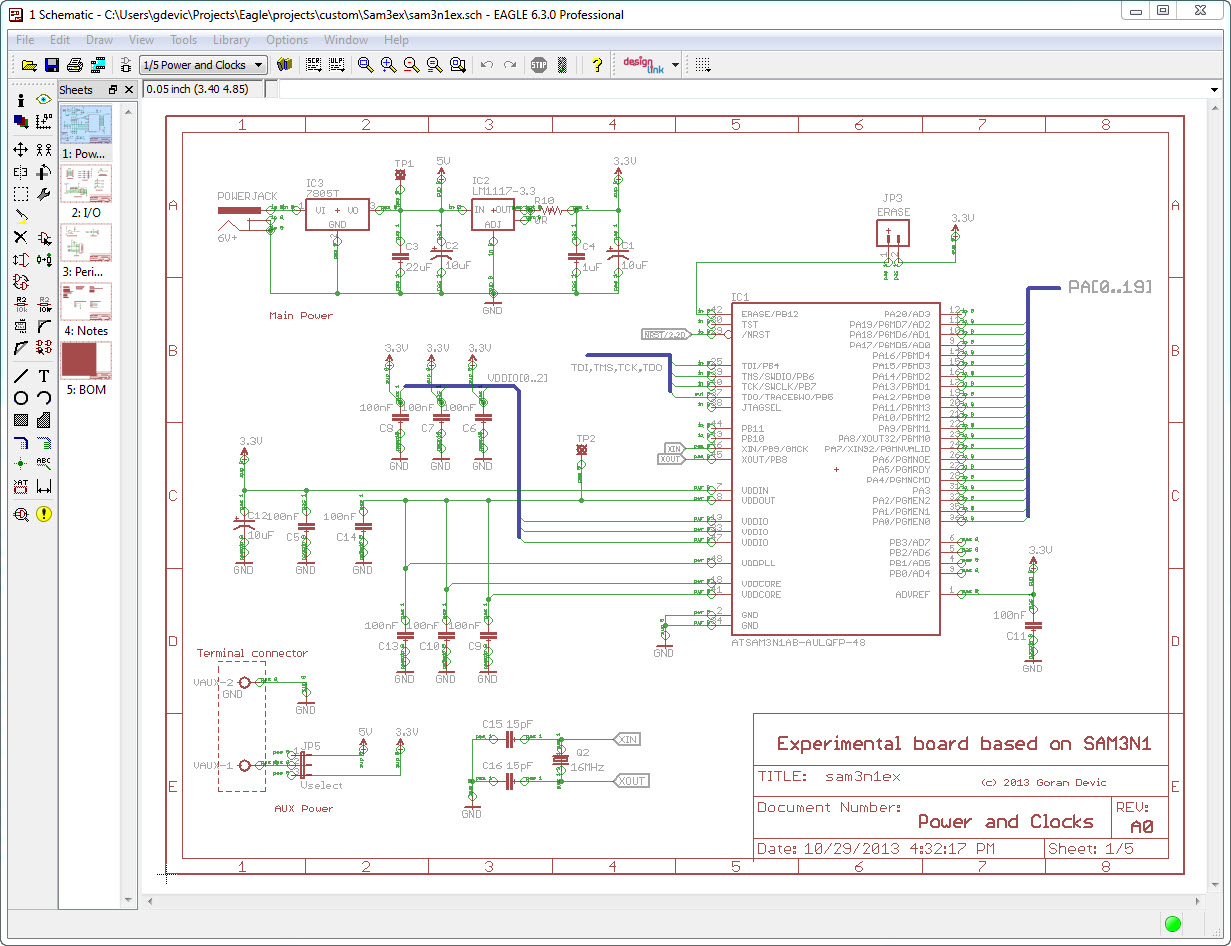 Pcb Making 3 Schematics Baltazar Studios Project Completed Eagle