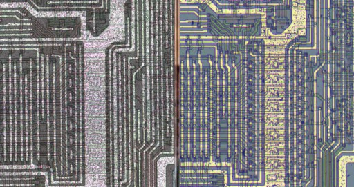 z80 die shot comparison