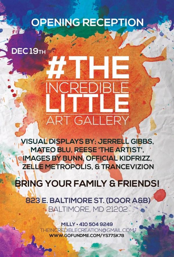 Art Gallery Event Flyer