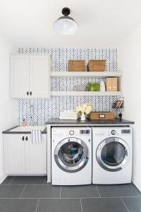 40+ Beautiful Laundry Room Tile Pattern Ideas