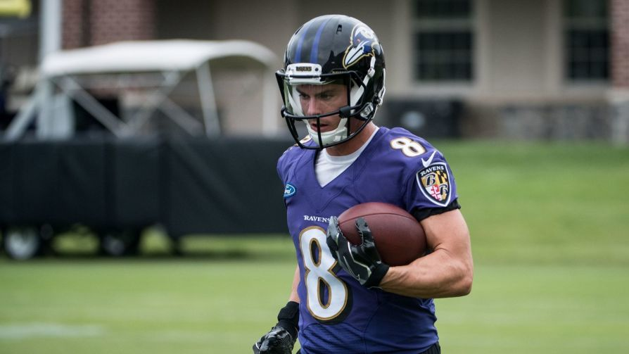 Wide Receiver Griff Whalen Returns To The Ravens