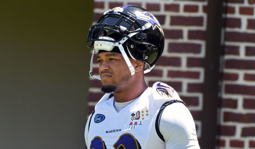 Jimmy Smith Ravens Minicamp