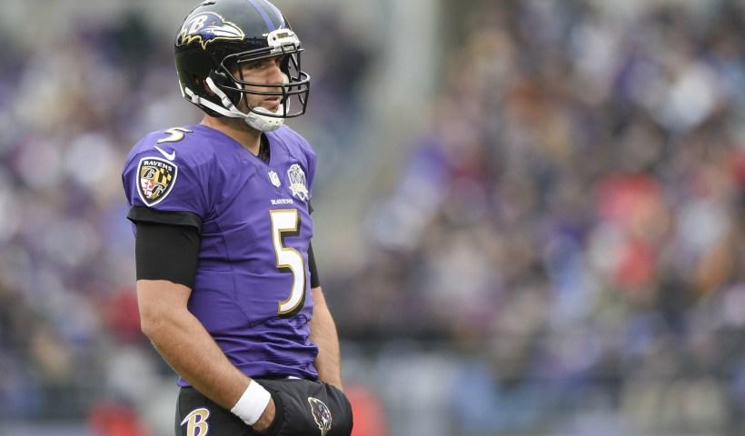 Joe Flacco Ravens Injury Hip