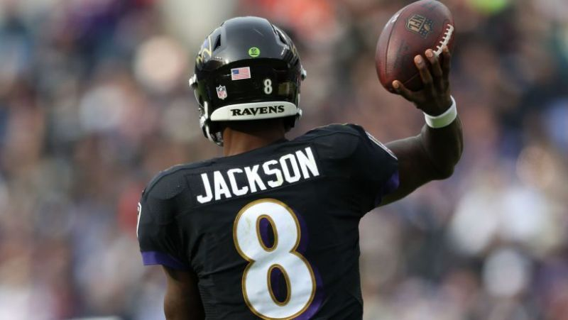 Lamar Jackson Raiders