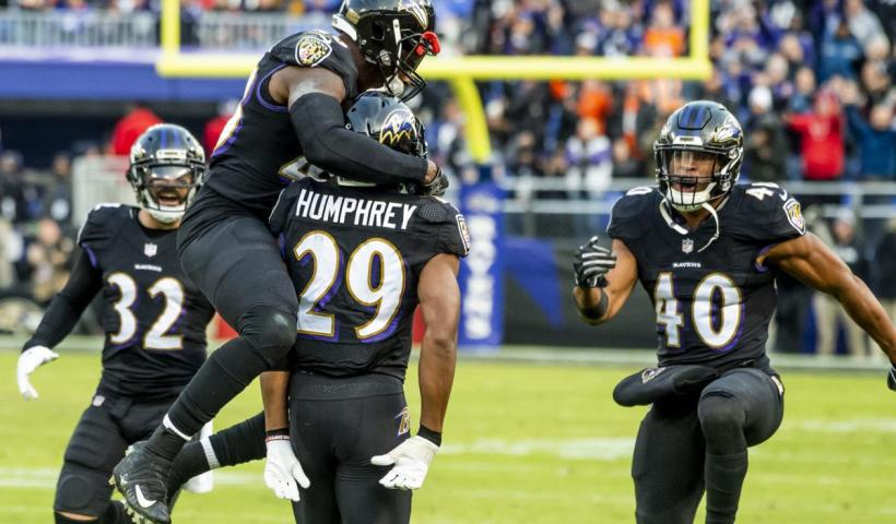 Marlon Humohrey Ravens Playoff Chances