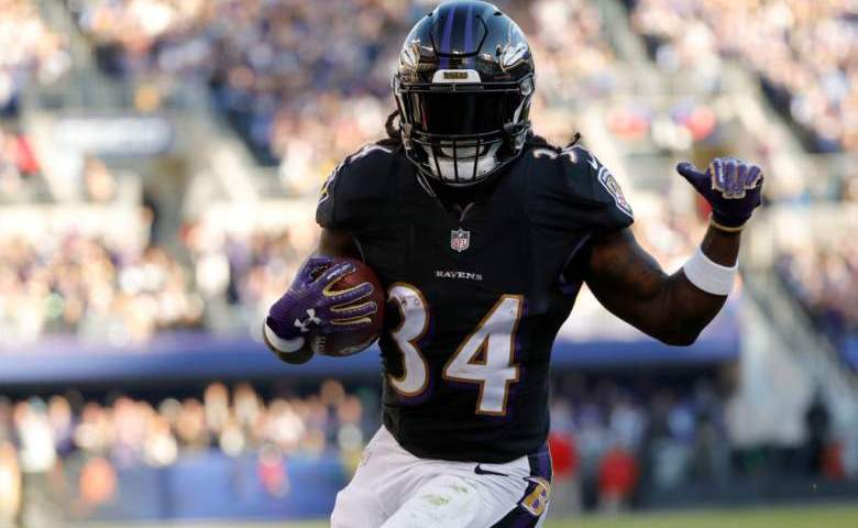 Alex Collins IR Ravens