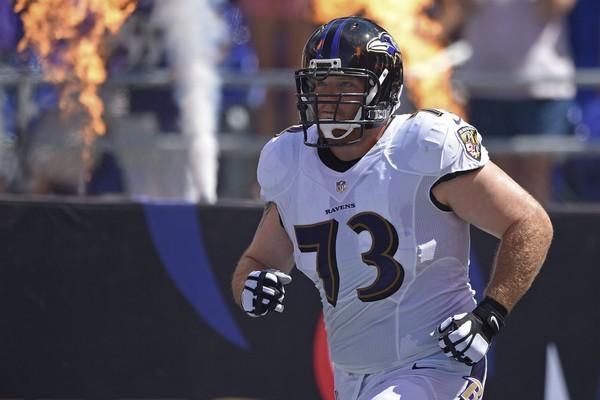 Ravens Pro Bowl Yanda Tucker Weddle Mosley Stanley