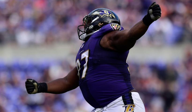 Michael Pierce Ravens Defensive Line