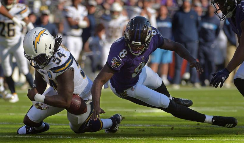 Baltimore Ravens Los Angeles Chargers Playoff Wild Card