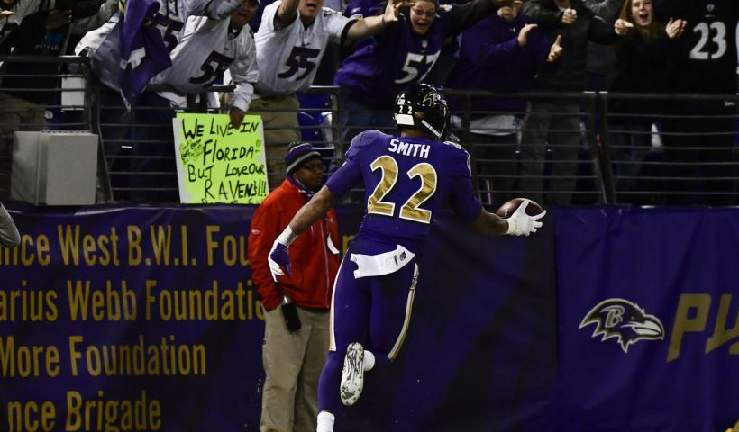 Jimmy Smith Ravens Defensive Backs