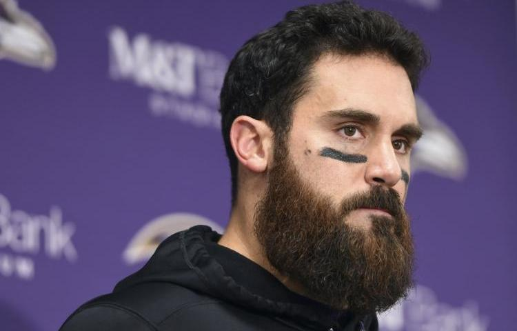Eric Weddle Ravens Cut