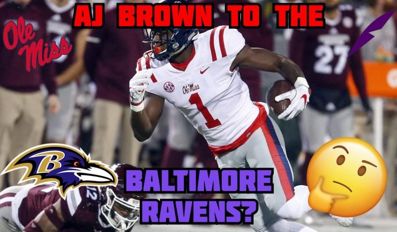 AJ Brown Ravens