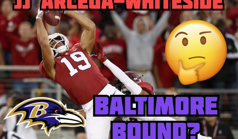 JJ Arcega Whiteside Ravens